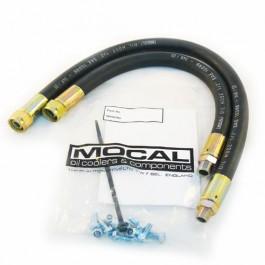 Paire de flexibles de radiateur d'huile - Mini - moteur A+ jusqu'à 92