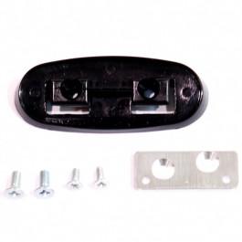 Kit de montage retro exterieur gauche