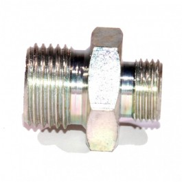 Raccord adaptateur tube de radiateur d huile sur bloc moteur