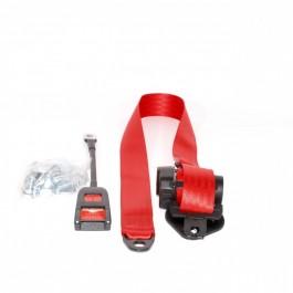 MSA1111RED-Ceinture de sécurité avant à enrouleur rouge