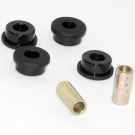 Jeu de 4 silent blocs de tirant inférieur sur boite vitesses(polyurethane)