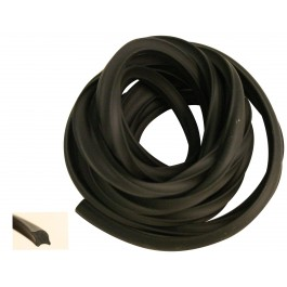 Rouleau de jonc noir de pare brise 30 métres