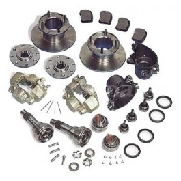 """Kit de conversion de freins à tambours en freins à disques 10"""""""