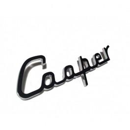 Badge COOPER - lettres chromées
