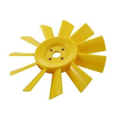 Ventilateur 11 pales plastique jaune AUSTIN MINI