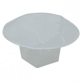Bouchon plastique blanc