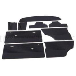 Kit panneaux intérieurs noirs MK3 à partir de 70 (9 pieces)