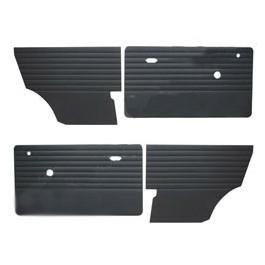 Jeu de 4 garnitures interieures (portes+ ar) vynil noir MK3