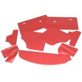 Kit panneaux intérieurs rouges MK3 à partir de 70 (9 pieces)