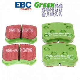 Jeu de plaquettes 7\5 EBC GREEN (Compétition)