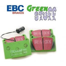 Jeu de plaquettes pour étriers 4 pistons EBC GREEN (Compétition)