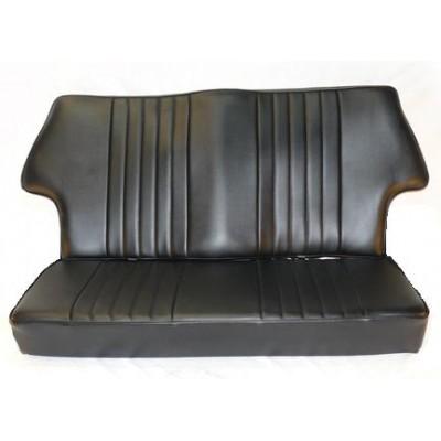 housse de banquette arri re cobra vinyl noir pi ces d tach es austin mini dmo racing. Black Bedroom Furniture Sets. Home Design Ideas