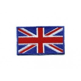 Badge tissu Union Jack