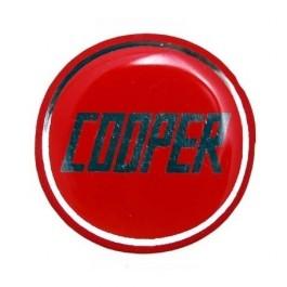 Badge autocollant 27 mm - MINI COOPER