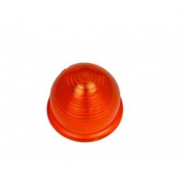 Cabochon de clignotant plastique orange avant 1987