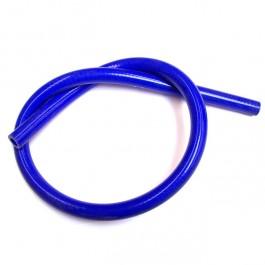 Durite de chauffage silicone bleu 16 mm - longueur 1 metre