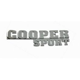 Badge Cooper Sport