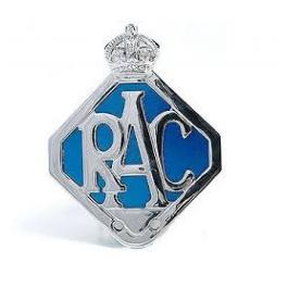 RAC-Badge RAC chromé