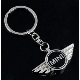 Porte clé sigle Mini noir