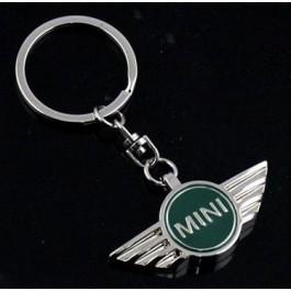 Porte clé sigle Mini vert