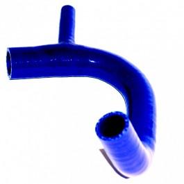 Durite inférieure silicone bleu - tous modeles jusqu'à 1989