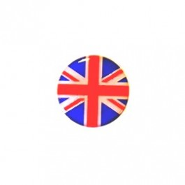 Badge autocollant 27 mm - UNION JACK