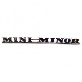 ADA3730-Badge arrière Mini Minor