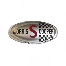 ALA6515-Badge de capot Morris Cooper S MKII