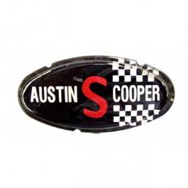 ALA6514-Badge de capot Austin Cooper S MK II