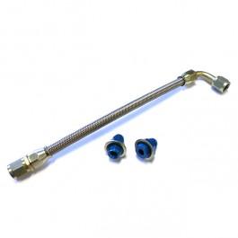 Flexible renforcé du filtre à huile au moteur - Embouts 5/8\ & 11/16\