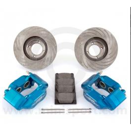 """MSLMS01KIT-Pack frein à disque ventilé 7.9"""" étrier 4 pistons alu"""