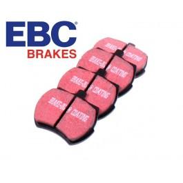 """Jeu de plaquettes 8,4"""" EBC kevlar - usage route"""