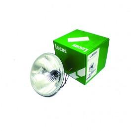 """27h5981a-Optique de phare 7"""" LUCAS serie 700 code europeen avec veilleuse austin mini moke"""