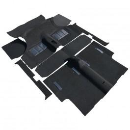 CK962A-Jeu de moquette Noire (thermomoulé)