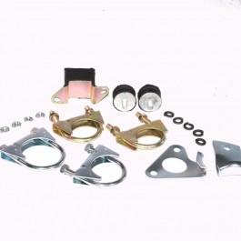 Kit montage tous échappements en 44 mm - Central ou latéral