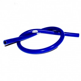 Durite de chauffage silicone bleu 13 mm