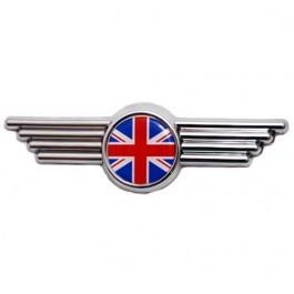 Badge de capot ailes \ UNION JACK \