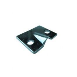 Plaque métal guide cable de frein à main