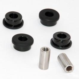 Jeu de 4 silent blocs de tirant moteur supérieur Orange jusqu'à 96(polyurethane)