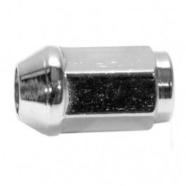 CN5-Ecrou de roue chromé - cone 60 °