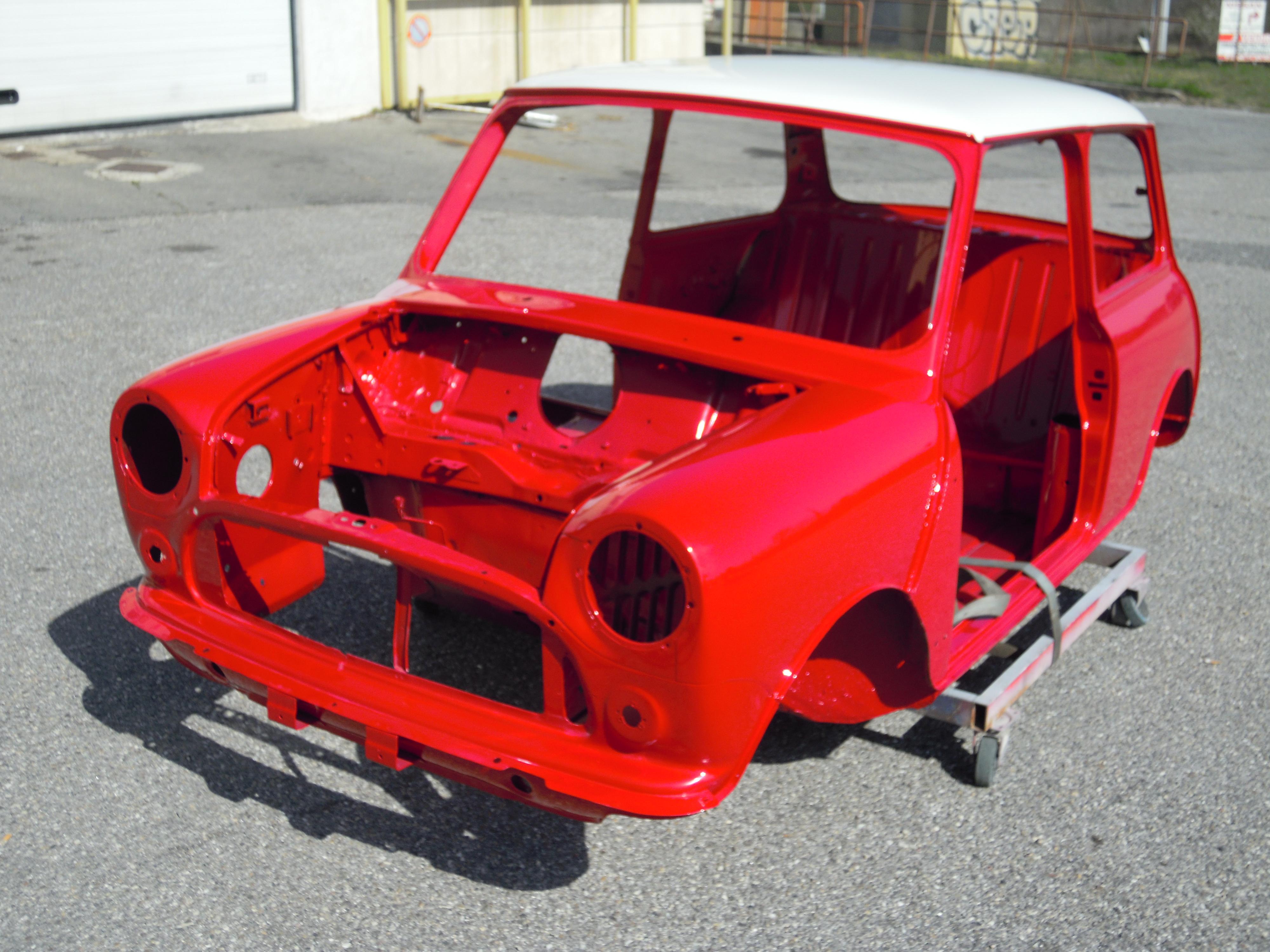 Cooper mk1 replica dmo racing for Garage mini cooper occasion